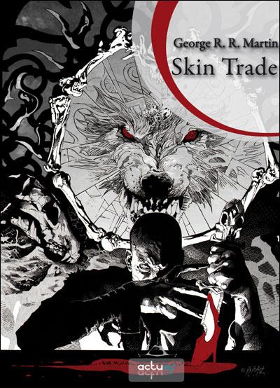 Le roman Skin Trade adapté en série TV
