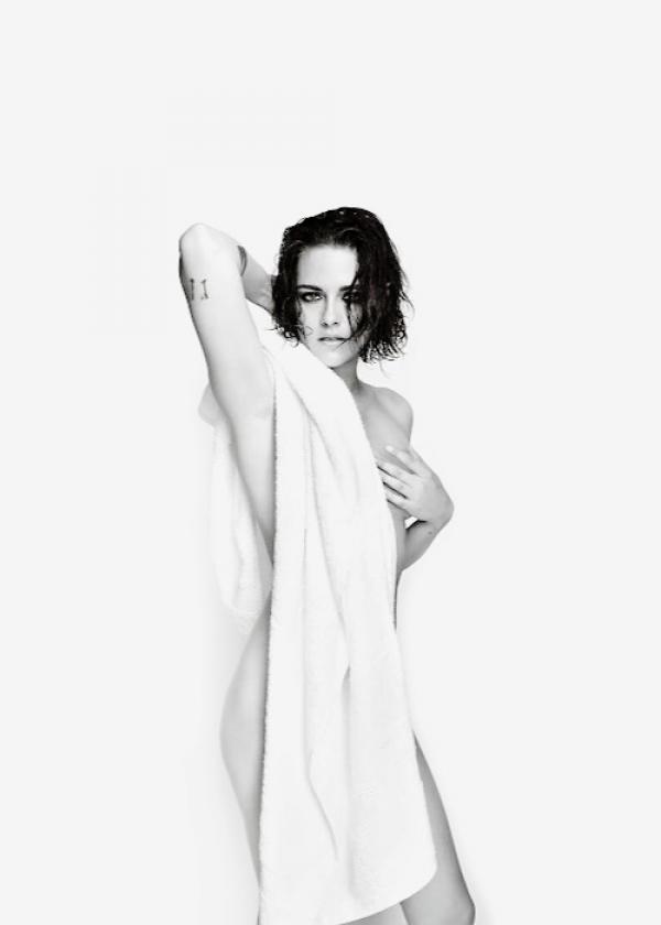 L'actrice Kristen Stewart pose nue pour Mario Testino