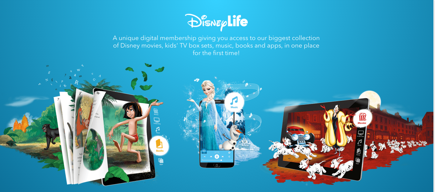 DisneyLife:  Disney en streaming