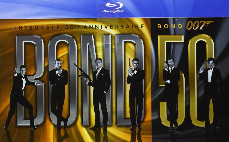 Un coffret James Bond pour les 50 ans de l'agent secret!