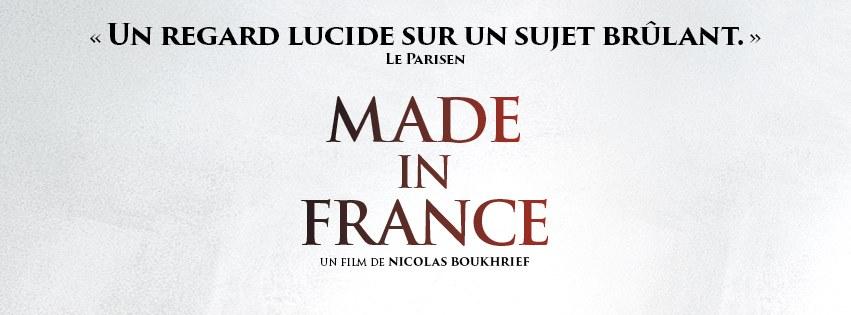 """Pas de sortie cinéma pour le film """"Made in France"""""""