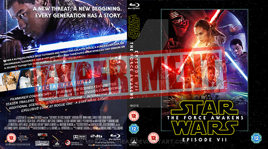 Star Wars 7 disponible sur DVD, Blu-ray à partir du...