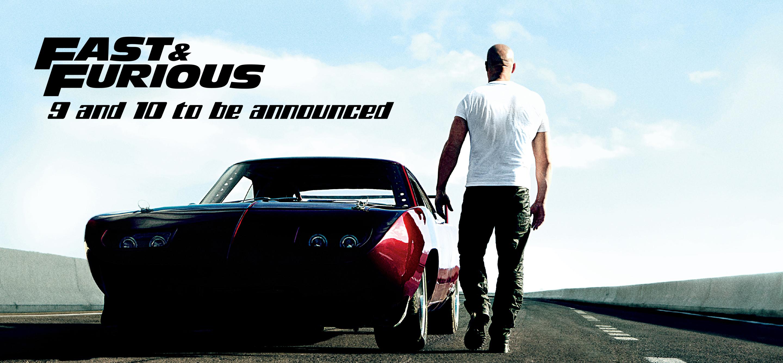 Dates de sorties pour Fast & Furious 9 et 10