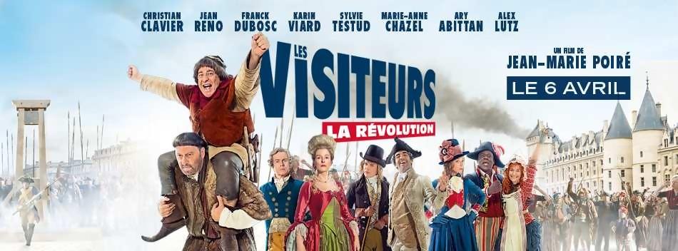 Les Visiteurs en tête du box office français