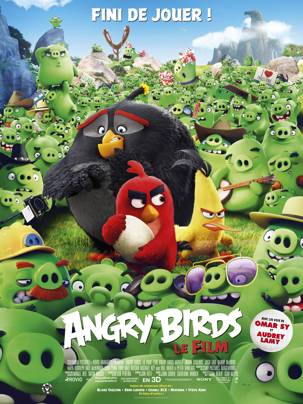 Angry Birds: Le Film DVD & BLU-RAY