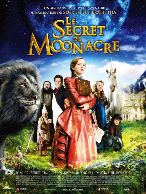 dvd Le secret de Moonacre