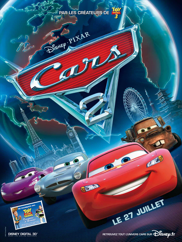 cars 2 dvd blu ray. Black Bedroom Furniture Sets. Home Design Ideas