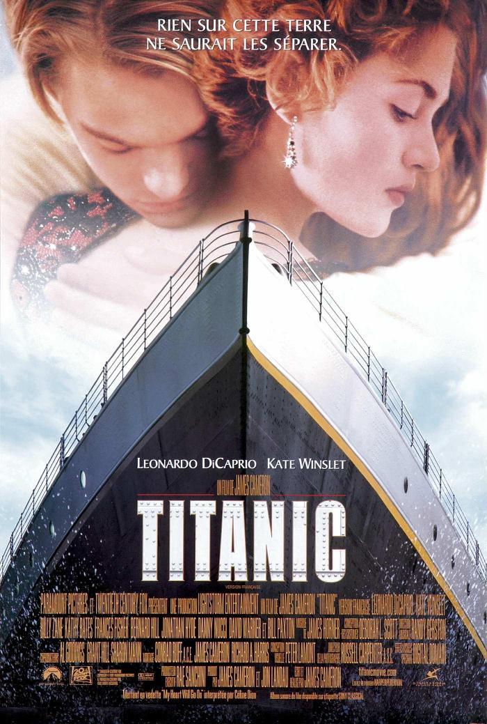 titanic dvd amp bluray