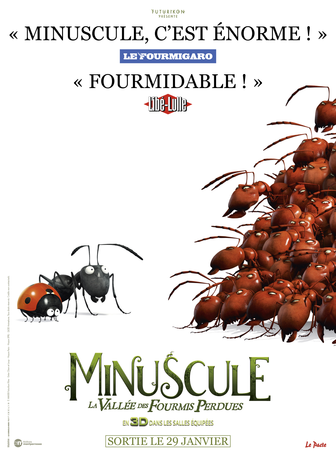 Minuscule - La vall�e des fourmis perdues | Multi | 1CD | BDRiP | 2013