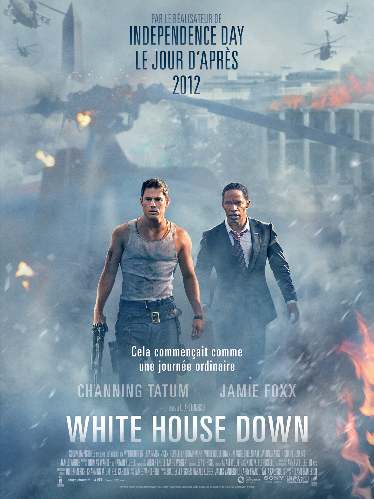 White House Down (2013) - bookish beauty