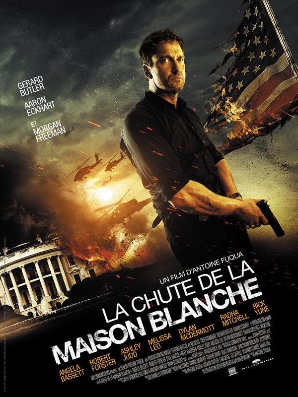 La chute de la maison blanche dvd blu ray for Assaut sur la maison blanche bande annonce