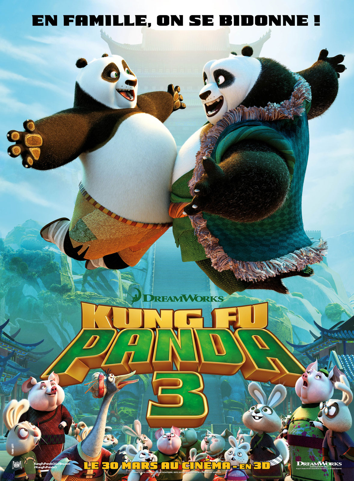 Kung Fu Panda 3 Stream