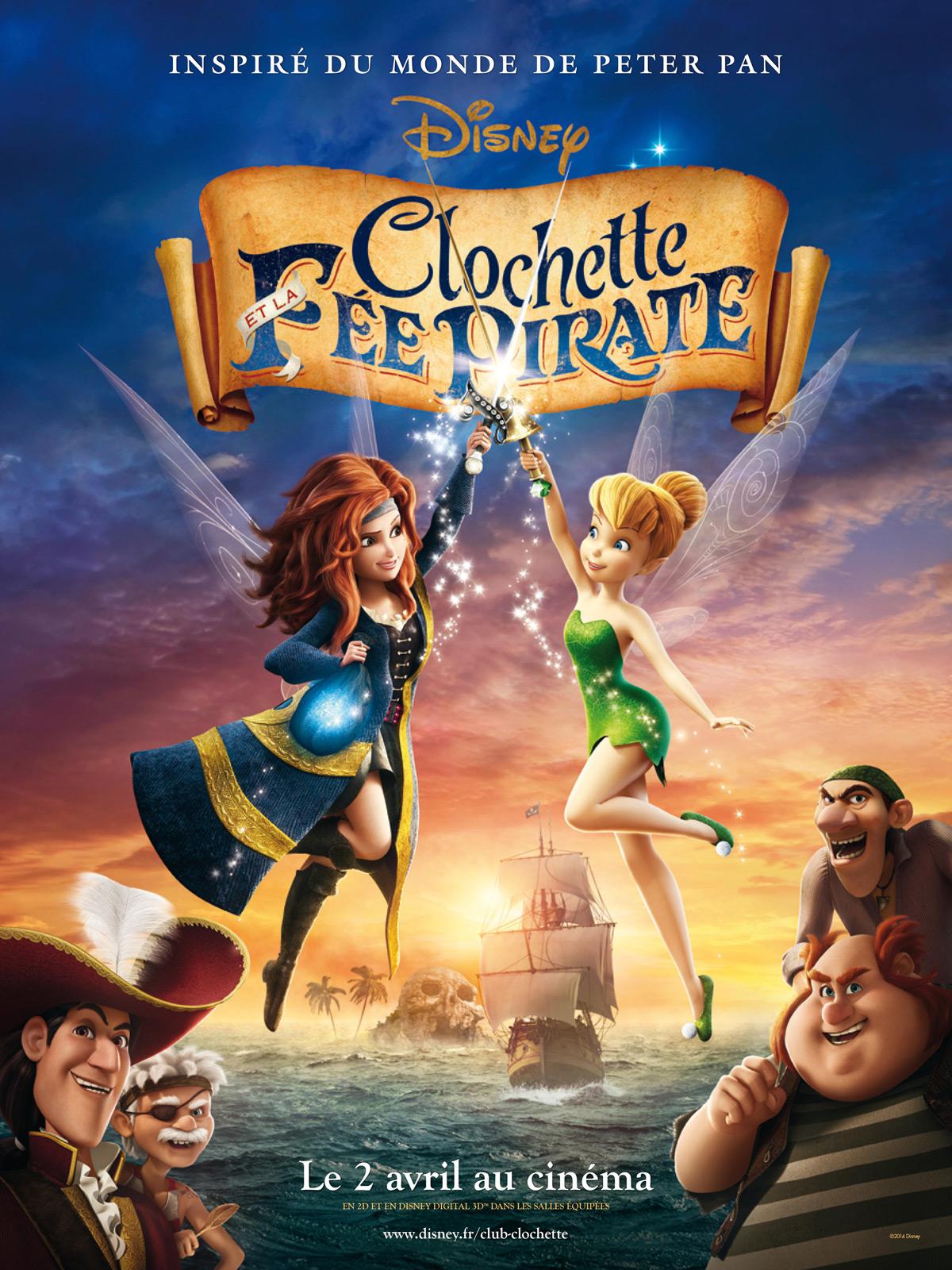 Clochette et la f e pirate - Dessin anime de clochette ...