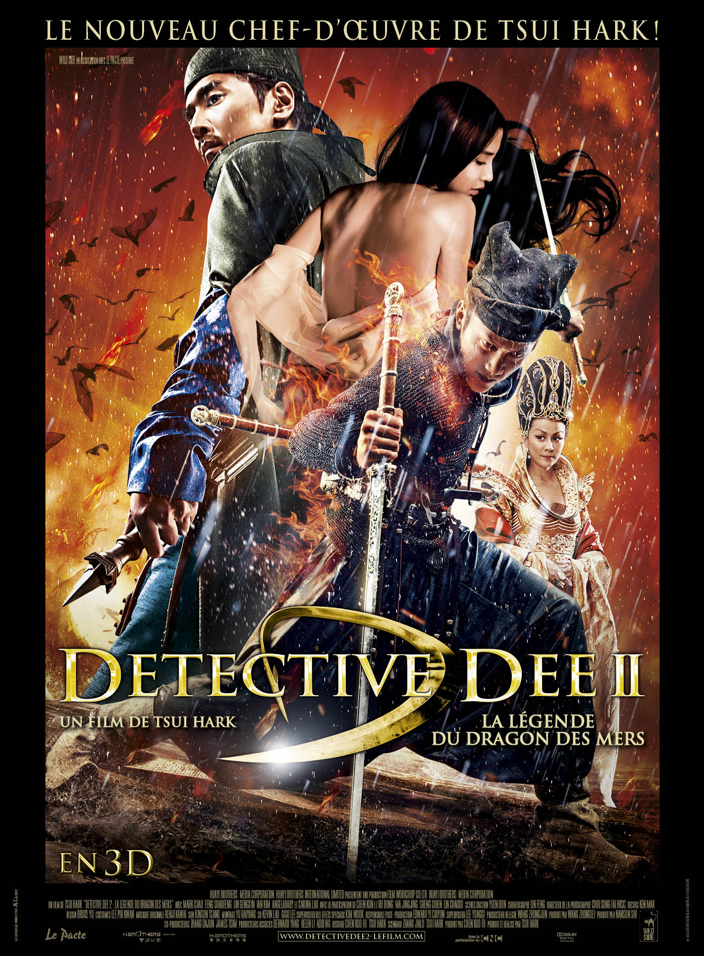 Detective dee 2 dvd blu ray for Les arts martiaux chinois