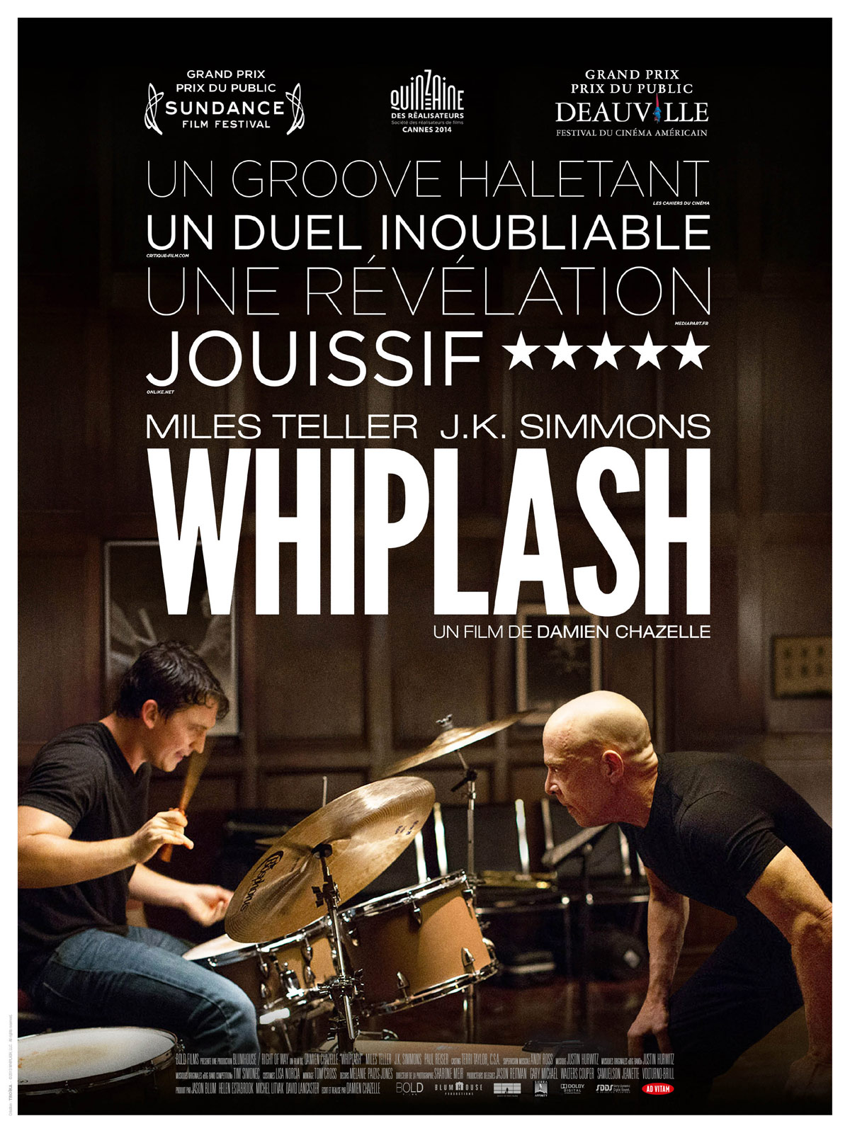 whiplash bande annonce en streaming. Black Bedroom Furniture Sets. Home Design Ideas