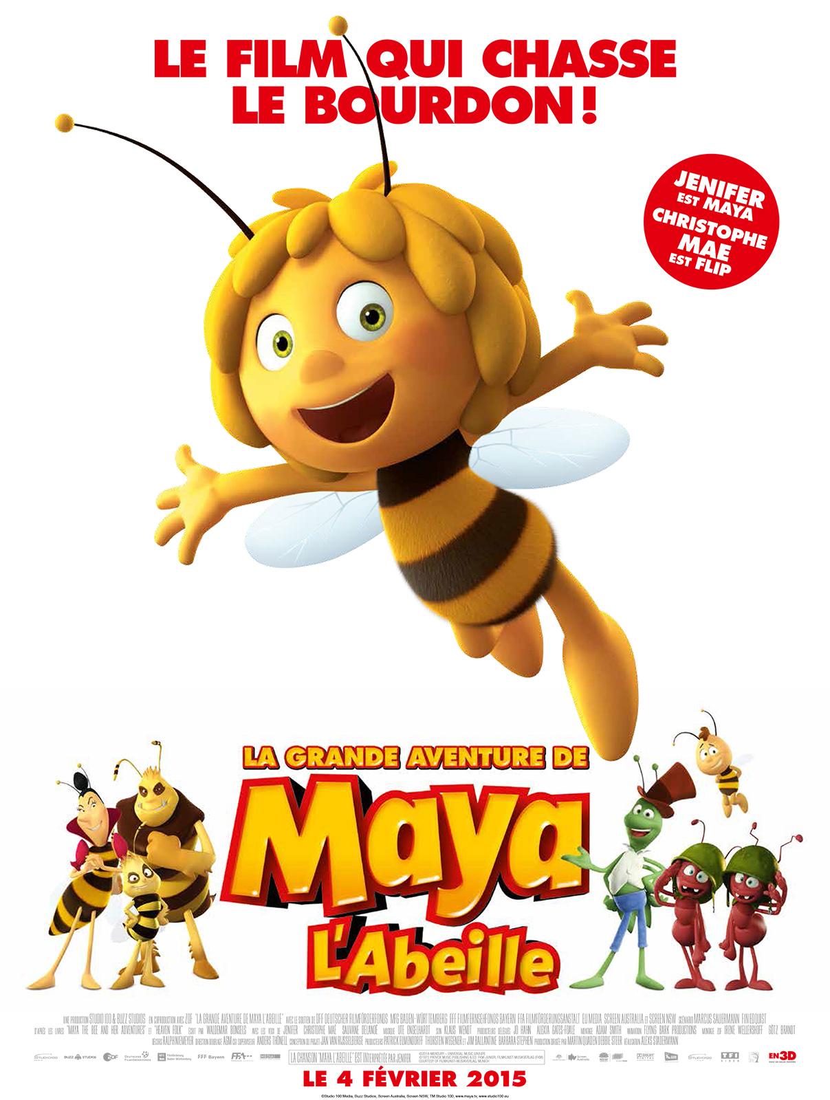 La Grande Aventure De Maya Lu0026#39;abeille DVD u0026 BLU-RAY