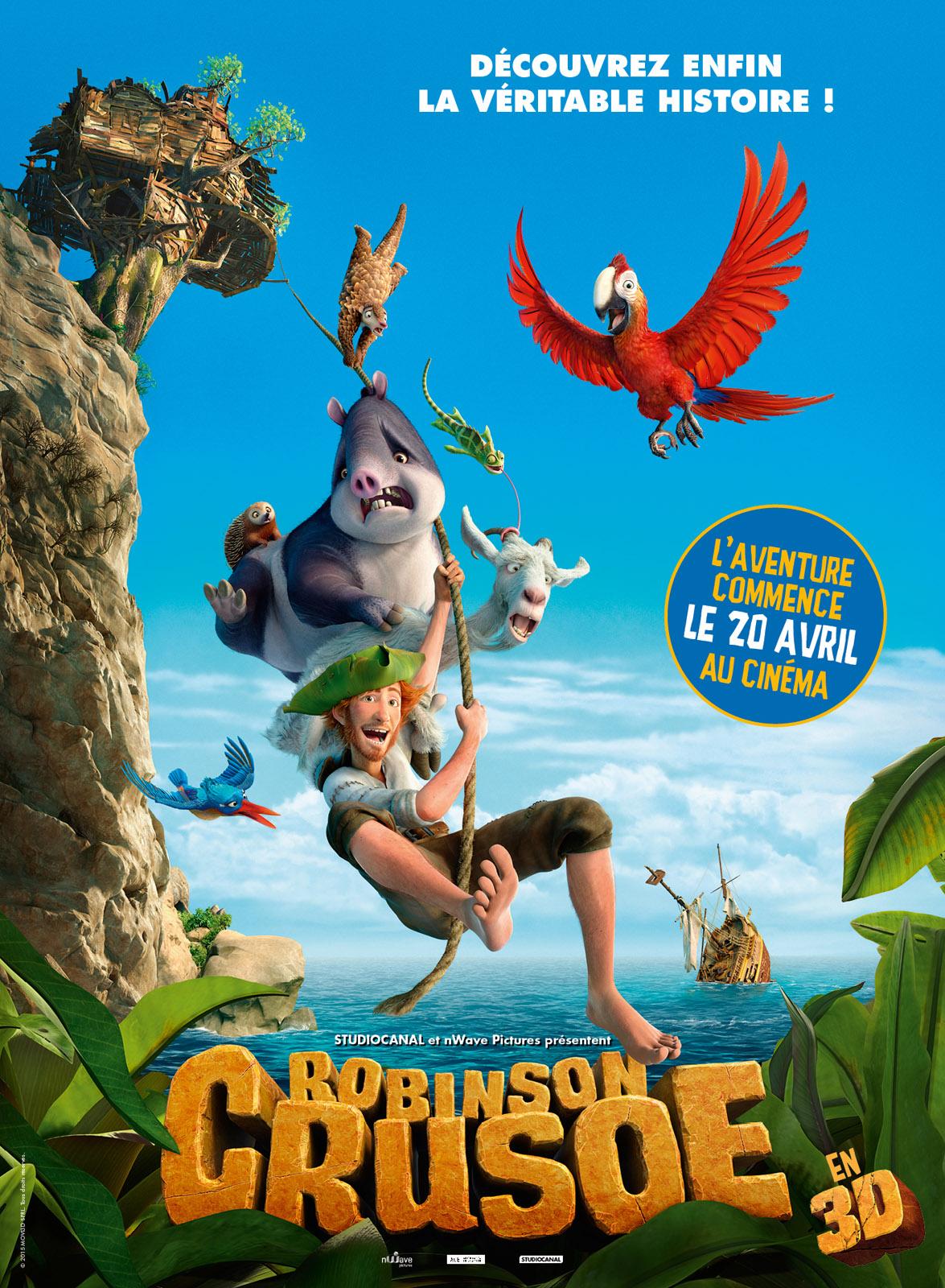 Robinson Crusoe Blu-ray 3D