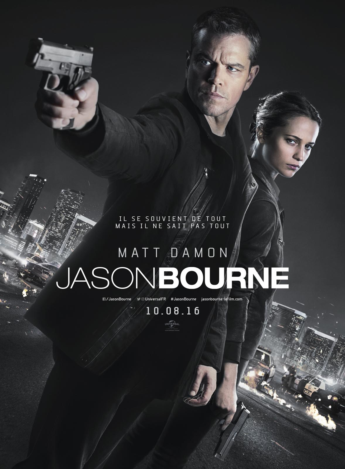 Jason Bourne (5) : Jason Bourne