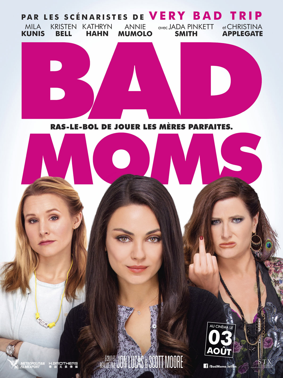 Bad Moms DVD & BLU... Emma Stone Imdb