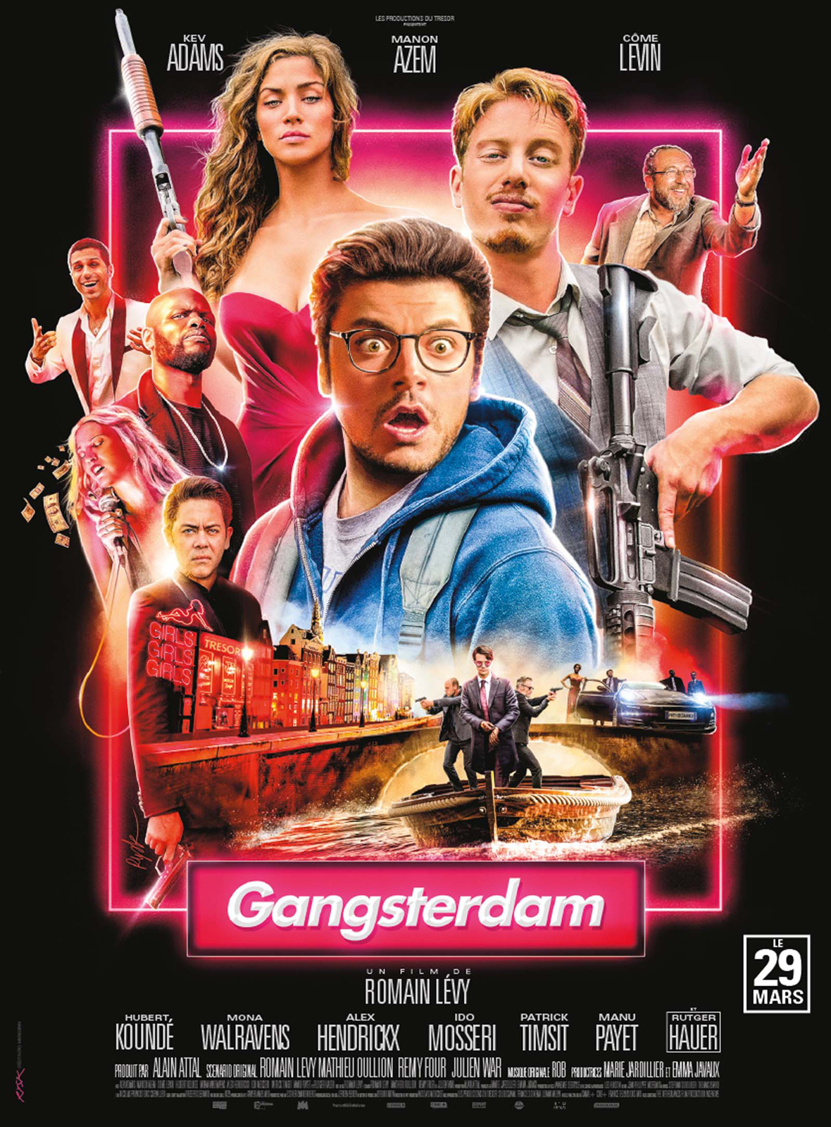 gangsterdam dvd blu ray. Black Bedroom Furniture Sets. Home Design Ideas