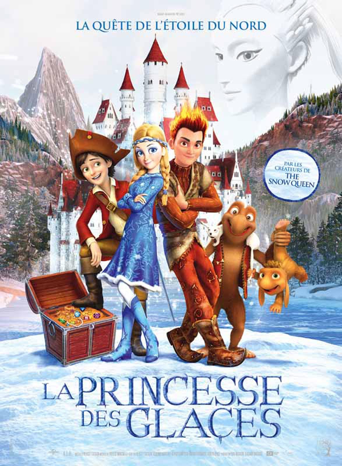 La princesse des glaces dvd blu ray - La reine des glace streaming ...