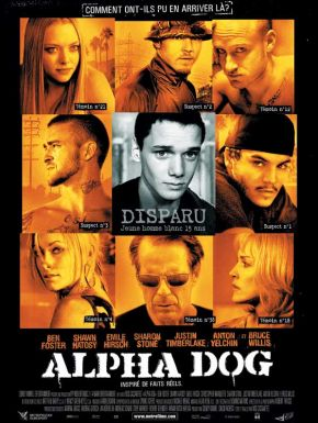 Jaquette dvd Alpha Dog