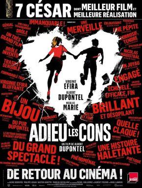 DVD Adieu Les Cons