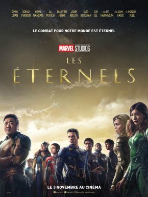 Eternals DVD et Blu-Ray