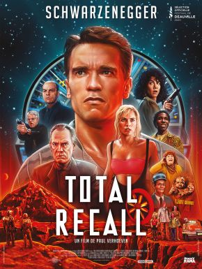 Jaquette dvd Total Recall