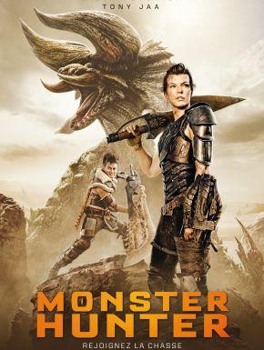 Jaquette dvd Monster Hunter