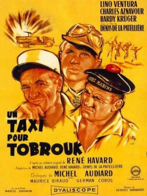 Sortie DVD Un taxi pour Tobrouk