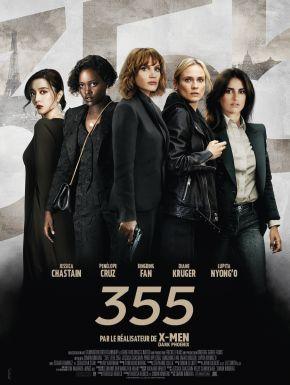 355 DVD et Blu-Ray