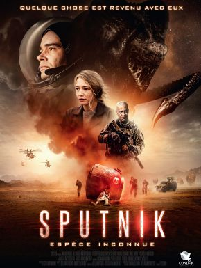 Jaquette dvd Sputnik - Espèce Inconnue