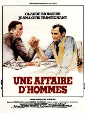 Jaquette dvd Une Affaire D'hommes