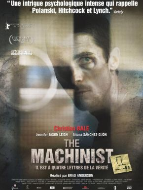 The Machinist en DVD et Blu-Ray