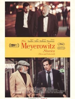 Jaquette dvd The Meyerowitz Stories (New And Selected)