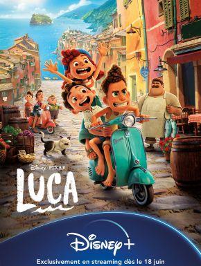 Luca en DVD et Blu-Ray