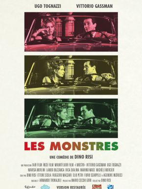 Les Monstres en DVD et Blu-Ray