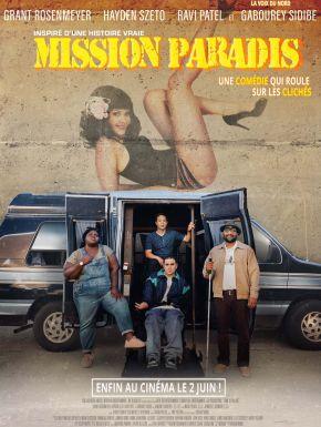 Jaquette dvd Mission Paradis