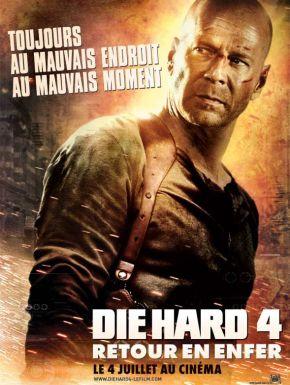 Sortie DVD Die Hard 4