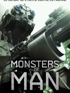 Jaquette dvd Monsters Of Man