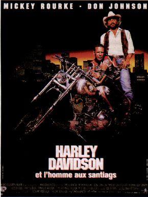 Jaquette dvd Harley Davidson Et L'homme Aux Santiags