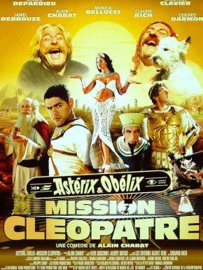 Jaquette dvd Astérix et Cléopâtre
