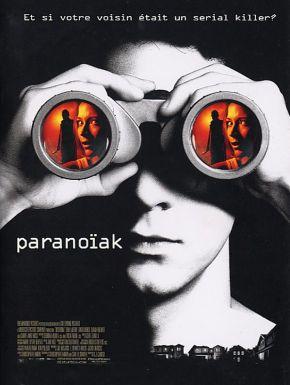 Jaquette dvd Paranoiak