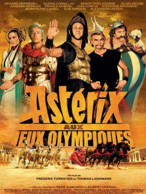 sortie dvd  Astérix Aux Jeux Olympiques