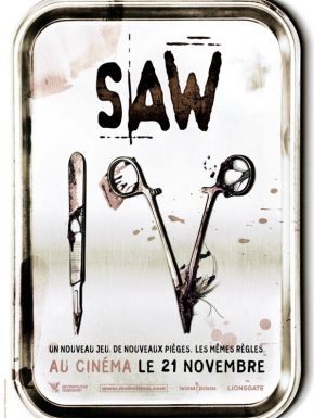 Jaquette dvd Saw 4