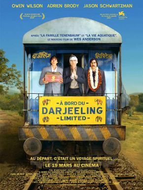 sortie dvd  A bord du Darjeeling Limited