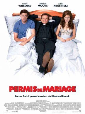 Jaquette dvd Permis de mariage