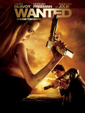 Jaquette dvd Wanted