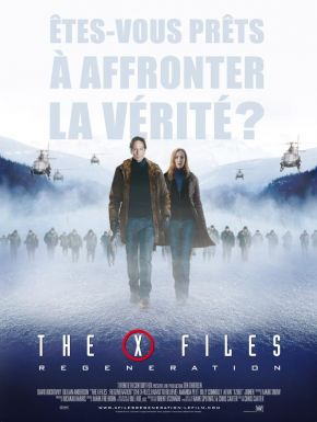 Sortie DVD X-files Regeneration